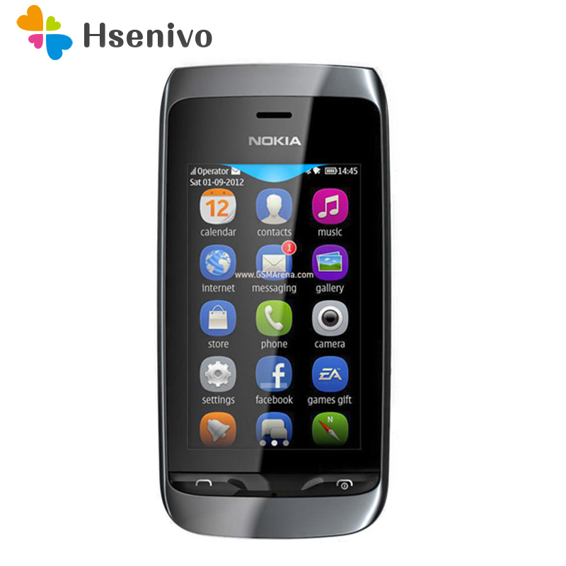 309 100% original unlocked Nokia asha 309 Mobile phone 3.0'T