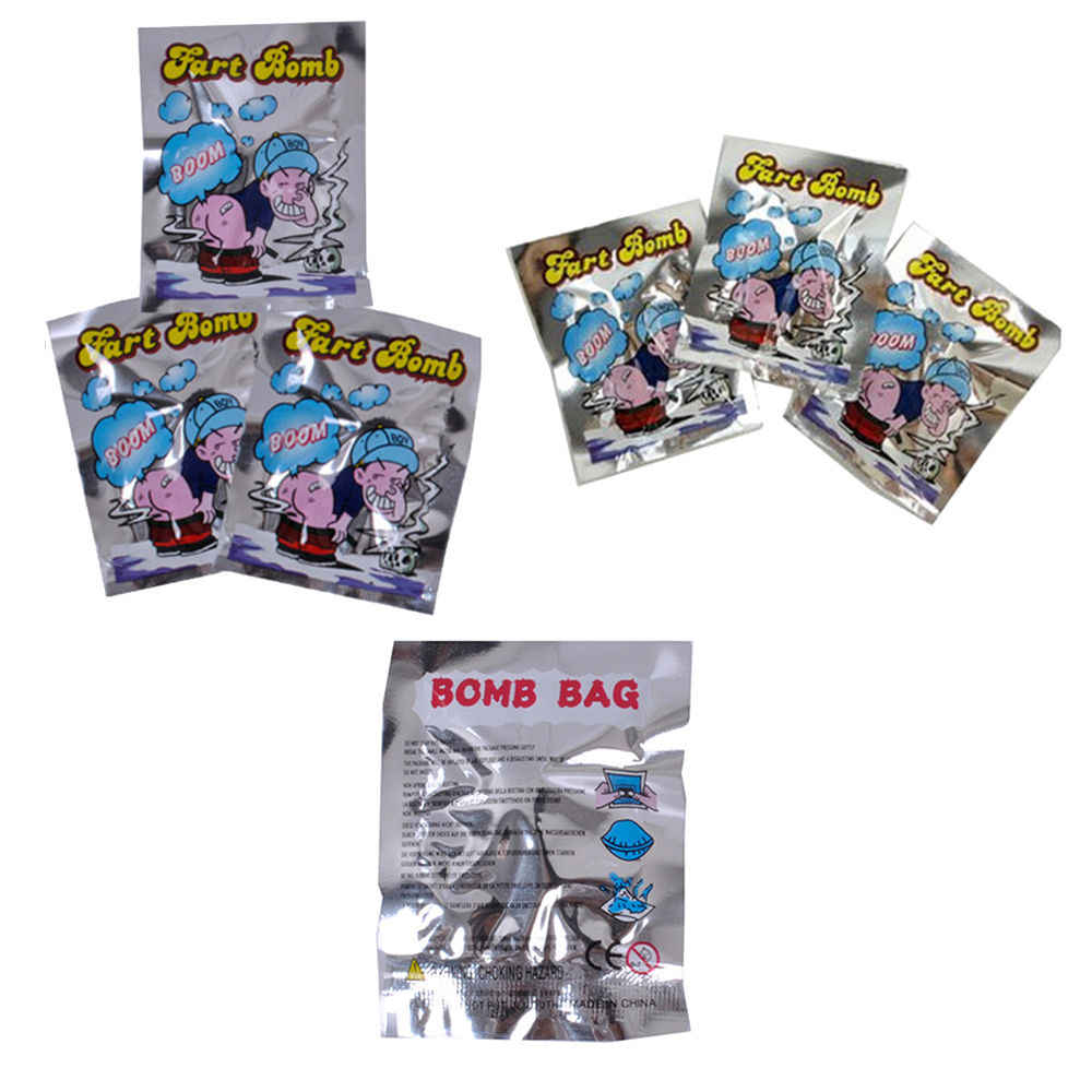 Fart Bomb Bags Smelly Nasty Stinky Gas Trick Filler Practical Joke Toys