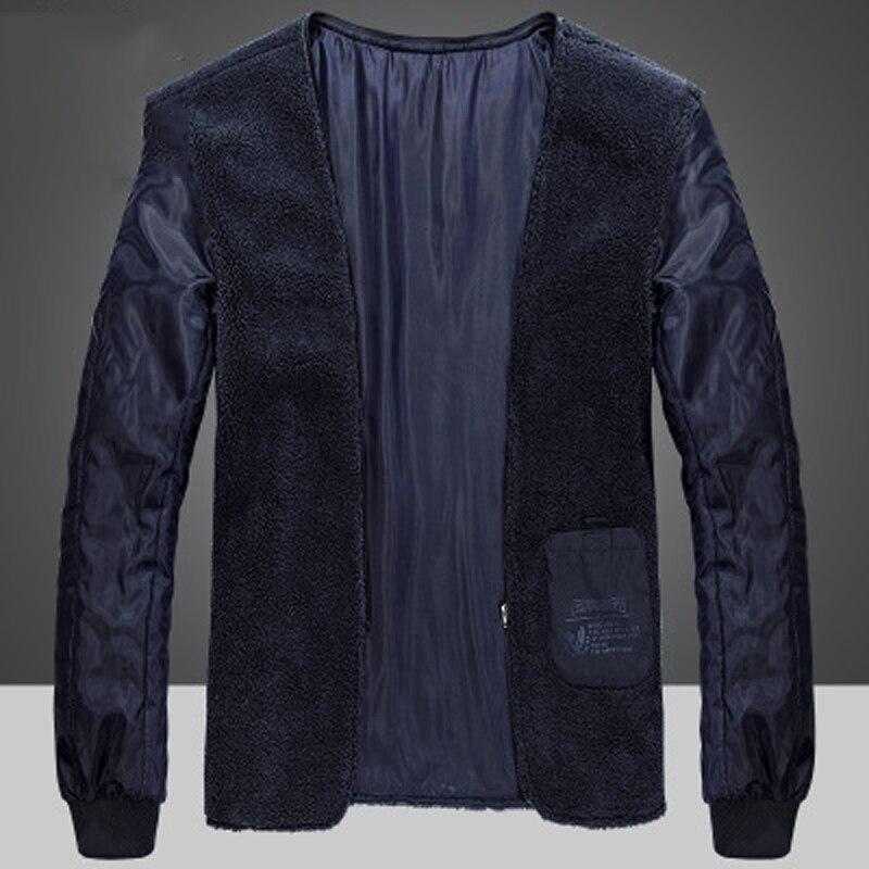 Мужская повседневная бейсбольная куртка, весенне осенняя Модная приталенная Мужская куртка, тонкие куртки, повседневное пальто высшего ка... - 6