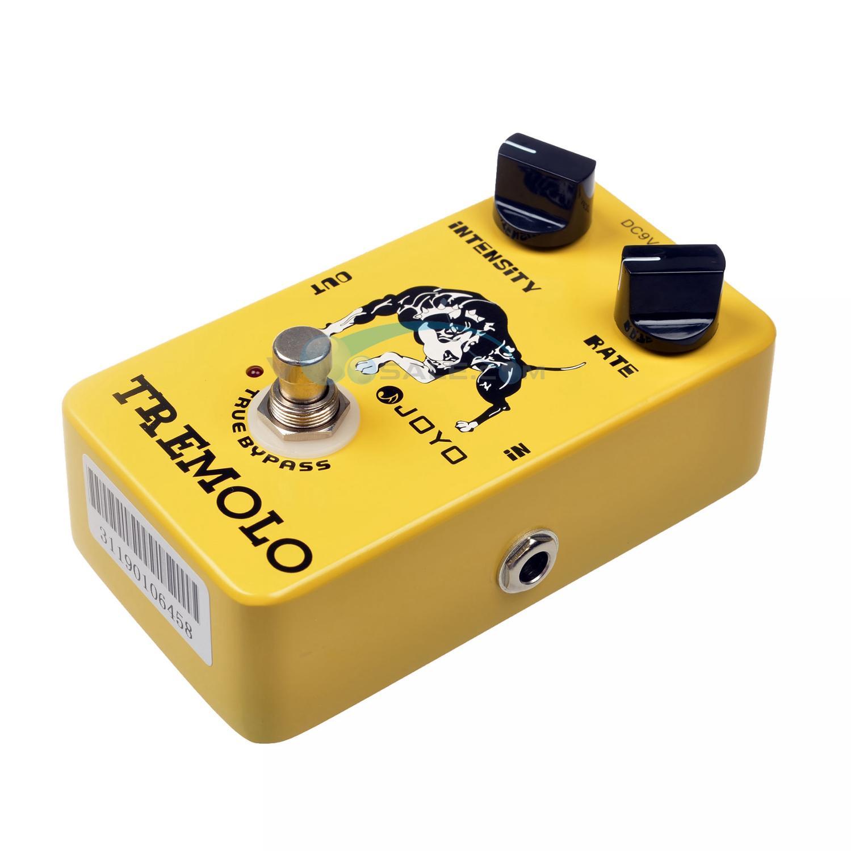 JOYO JF-09 Tremolo Effektləri Gitara Pedal Tompbox Sıxlıq - Musiqi alətləri - Fotoqrafiya 4