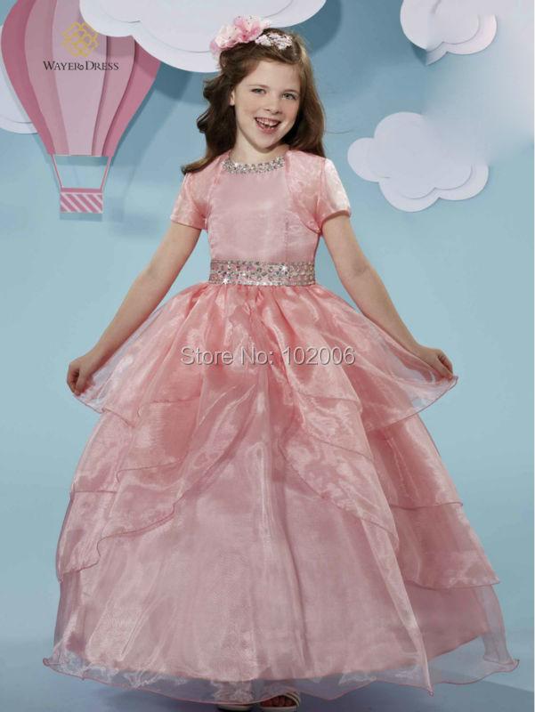 Vestidos de fiesta para nina color rosa coral – Vestidos de moda ...