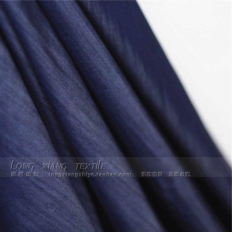 Хорошая 143*50 см 1pc100% ткань Tencel Telas лоскутное средней толстой джинсовой ткани мягкая джинсовая ткань для Diy шитья женские брюки и платье