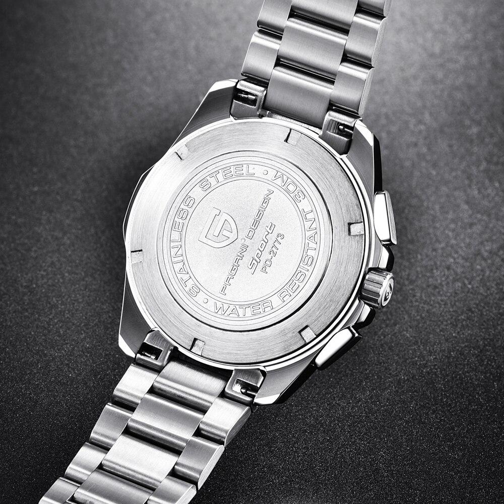 8e0038fc1b94 Acero de alta calidad relojes hombres lujo marca reloj deportivo militar  multifunción reloj de cuarzo giratorio en Relojes deportivos de Relojes en  ...