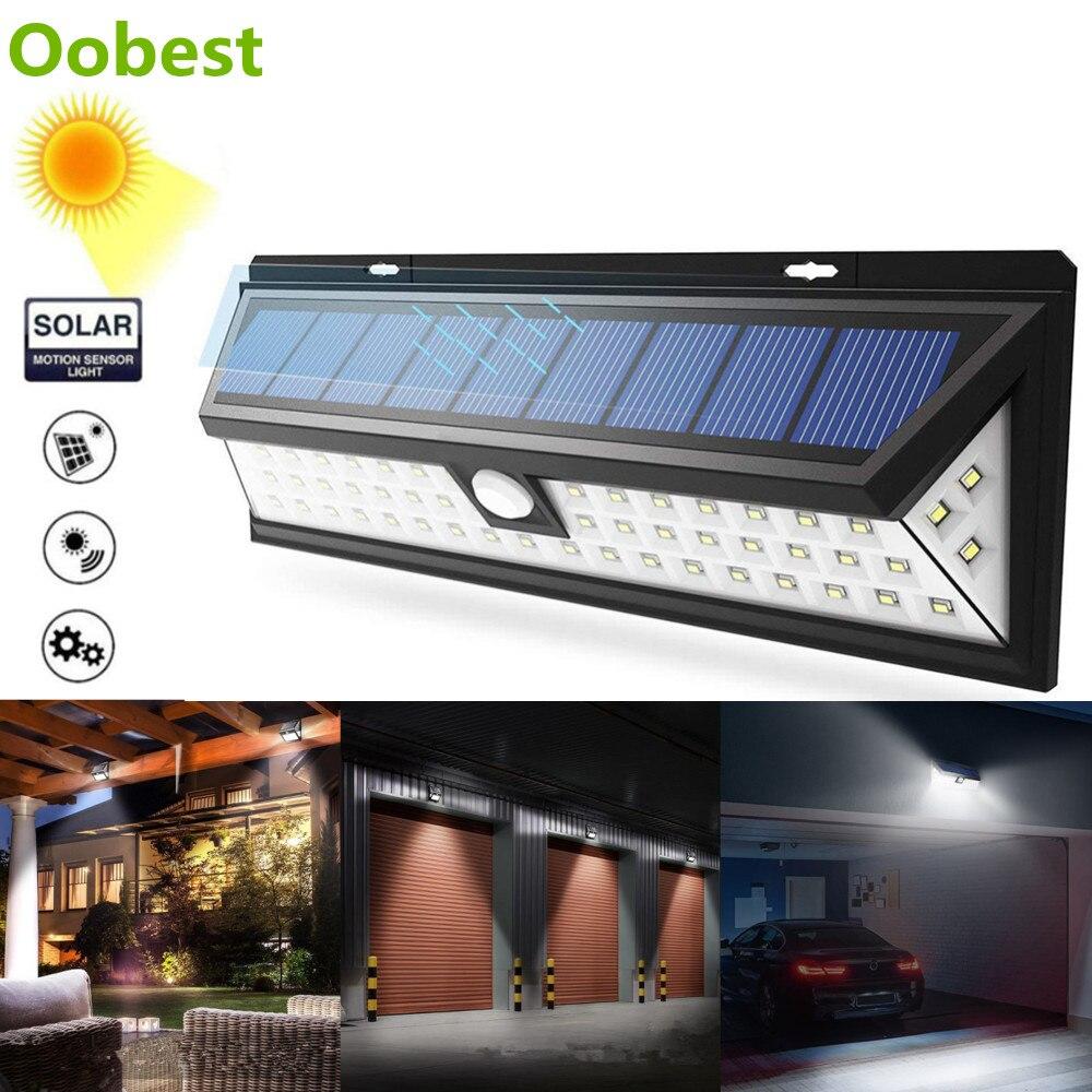 cb2fe3097a74 26-118 LEDs Outdoor Solar Lamp Garden Wall Light 3 Modes Solar Lampara  Waterproof