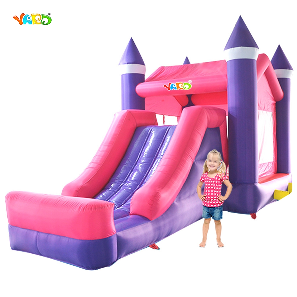 YARD Inflatable Bounce House Bouncy Jumper Jumping Castle Bouncer with Slide jumping inflatable castle bouncy castle jumper bouncer castle inflatable bouncer with slide