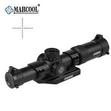 MARCOOL 1-6x24 SFL HD Glasses AK Tactical Airsoft Sports  Optical Rifle Scopes Collimator Riflescope Aim Sight For Hunting