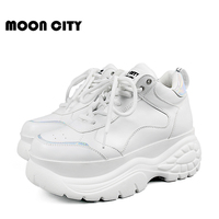 Women Shoes 2019 Chunky Sneakers Women Vulcanize Shoes Femme Platform Sneakers Trainers Casual Shoes Woman Brand Summer Sneakers