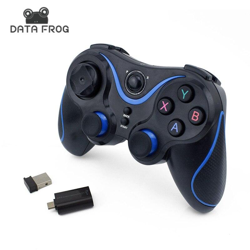 Wireless Game Controller Joystick Mit OTG Für PC Spiele Gamepad Universal Für Android TV Box Tablet Für Handy Fernbedienung 2,4g