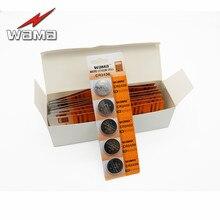 50pcs/10Card Wama CR2430 3V 280mAh Alkaline Button Cell Coin Batteries DL2430 KECR2430 Lithium Battery Wholesale Price