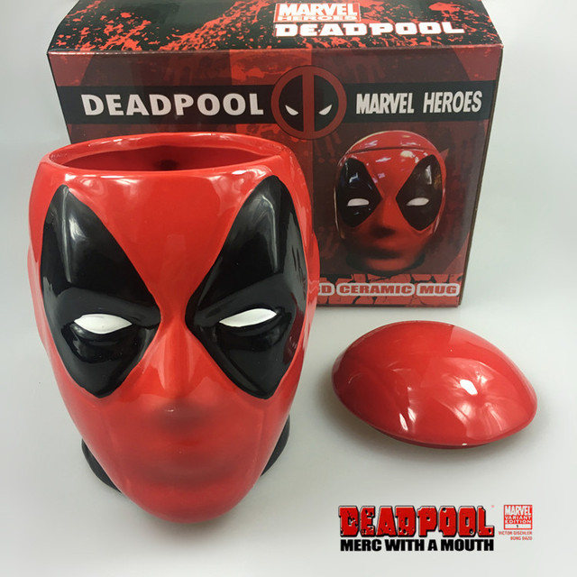 Marvel Comics Deadpool 3D Ceramic Mug