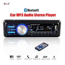 2016 de Audio Del Coche Coche Reproductor de Radio Estéreo Bluetooth Car Audios Estéreo En el tablero 12 V FM Aux USB SD 1 Din Auto Radios En Lugar de DVD