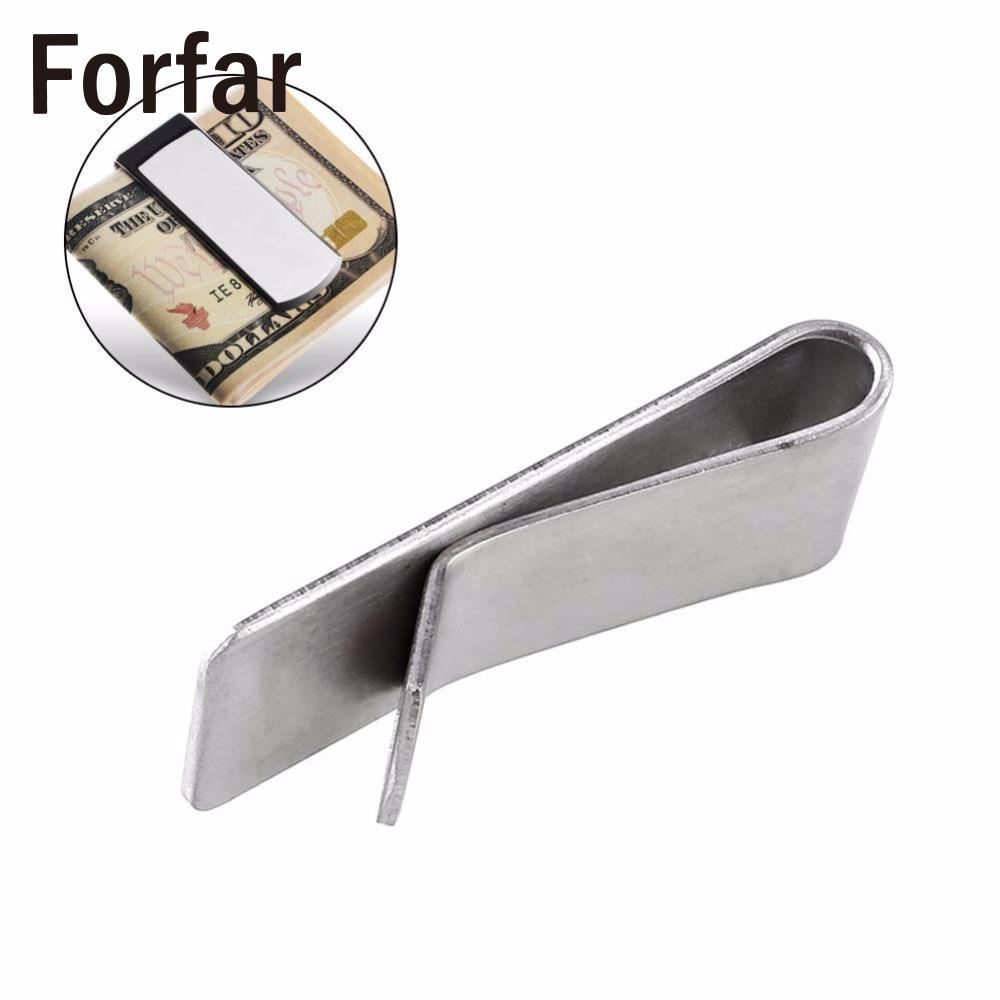 Outdoor Retro Thickened Brass Metal Money Bill Note Cash Card Clip Wallet Holder Camping Clip tool