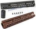 Nueva alta calidad de 12.6 pulgadas para AEG M4/M16 Táctico de Handguard Rail System BK/CB-Envío gratis
