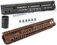 New High Quality 12 6 Inch For AEG M4 M16 Tactical Handguard Rail System BK CB