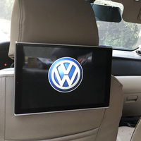 Car LCD Monitor With DVD Player Android Bluetooth Headrest Entertainment System For Volkswagen Touareg Auto Screen