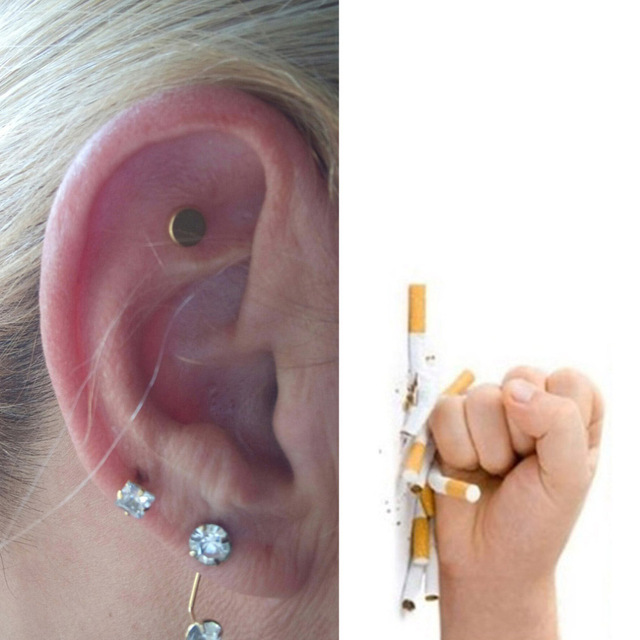 Health Care Magnet Quit Smoking Acupressure Patch NO Cigarette Health Therapy Stop Smoking Anti Smoke Patch Smokeless Smoker 1
