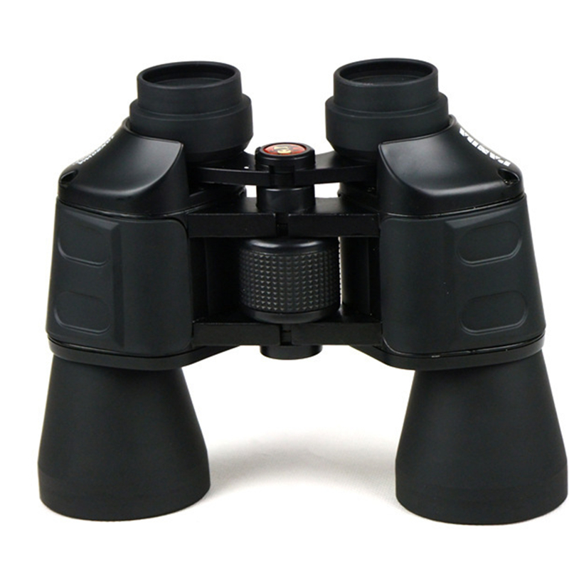 Binoculars Telescope P 10X50WA 137M/1000M Hd wide-angle Central Zoom Portable LLL day and Night Vision Hunting Scope