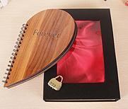 Free Shipping Hot Selling Popular Gift New DIY Vintage Photo Album Black Card Heart Shape Photo Album