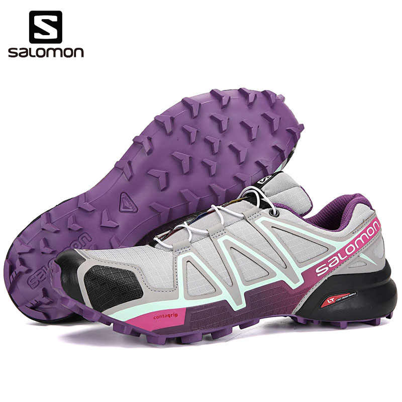 920627699cf4 ... Original Salomon Speedcross 4 CS Sport Women Shoes Outdoor Breathable  zapatos de mujer Woman Running Shoes ...