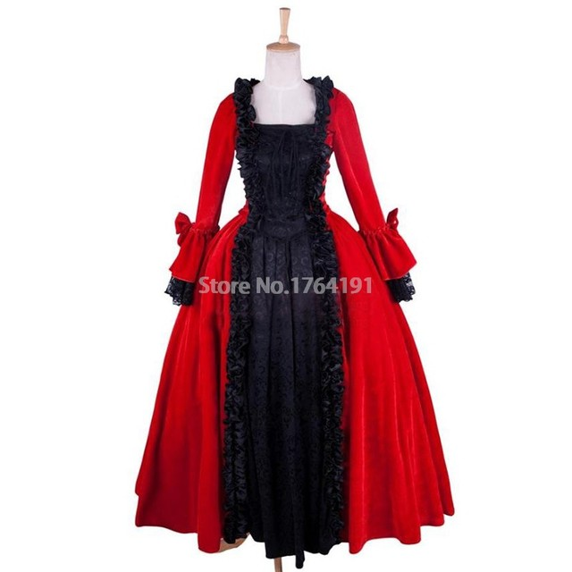 Victorian Era Ball Gowns Wedding Dress