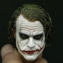 Custom 1/6Scale Joker Head Sculpt 3.0 For Hot Toys DX11 DX01 Action Figure Toy Collection