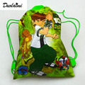 1Pic children schoolbags Princess Drawstring Bags Cartoon DUOLAIMI For Girls & Boys multipurpose school backpack Christmas 88