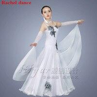 Ballroom Dance Competition Dresses Customized For Girl Ballroom Standard Dance Dress Juvenile Dance COSTUME Stage Ballroom Dress