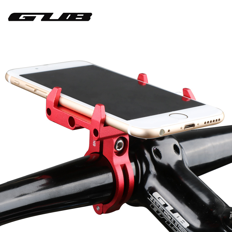 GUB G85 G-85 Aluminum Bicycle Phone Holder For For 3.5-6.2inch Smartphone Adjustable Universal Support GPS Bike Phone Stand