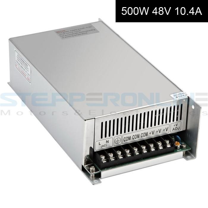 500 Вт DC48V 10.4 Импульсный источник питания 115В/230В в ШД маршрутизатор DIY ЧПУ