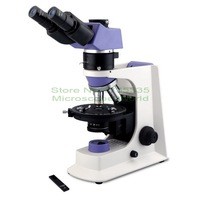 Binocular Polarizing Polarization Geology Microscope EUM 2000P For Industry Minerals Metallurgy Section