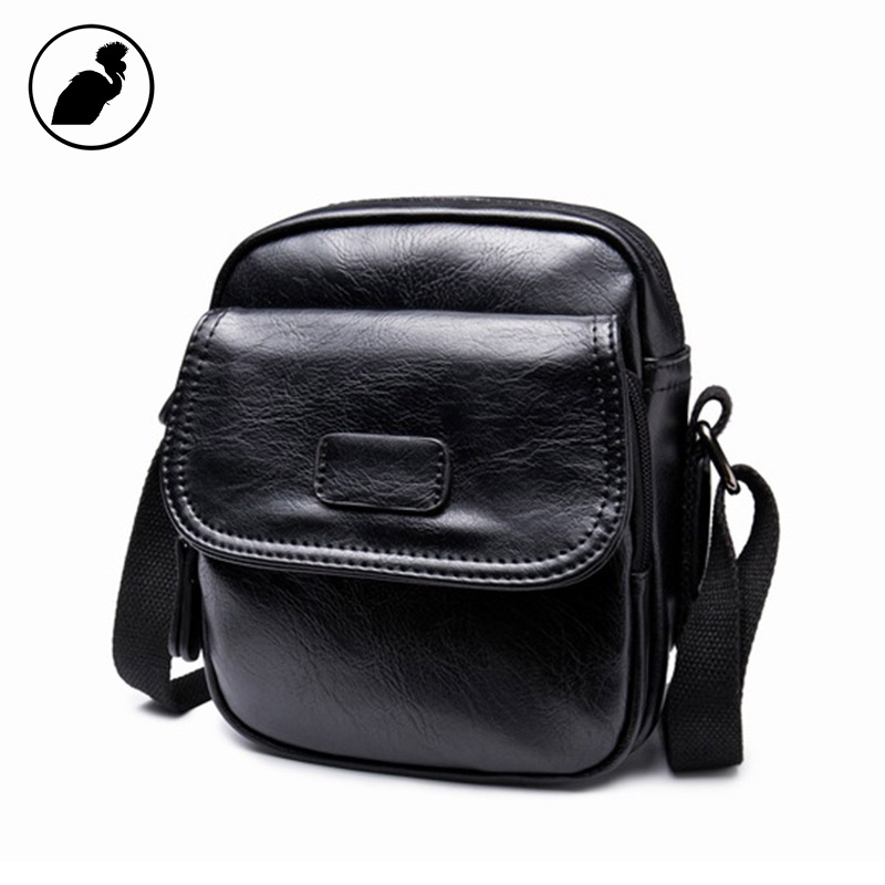 ETONWEAG Famous Brands Cow Leather Messenger Bag Men Leather Black Vintage Crossbody Bags Zipper Business Style Mens Small Bag new casual business leather mens messenger bag hot sell famous brand design leather men bag vintage fashion mens cross body bag