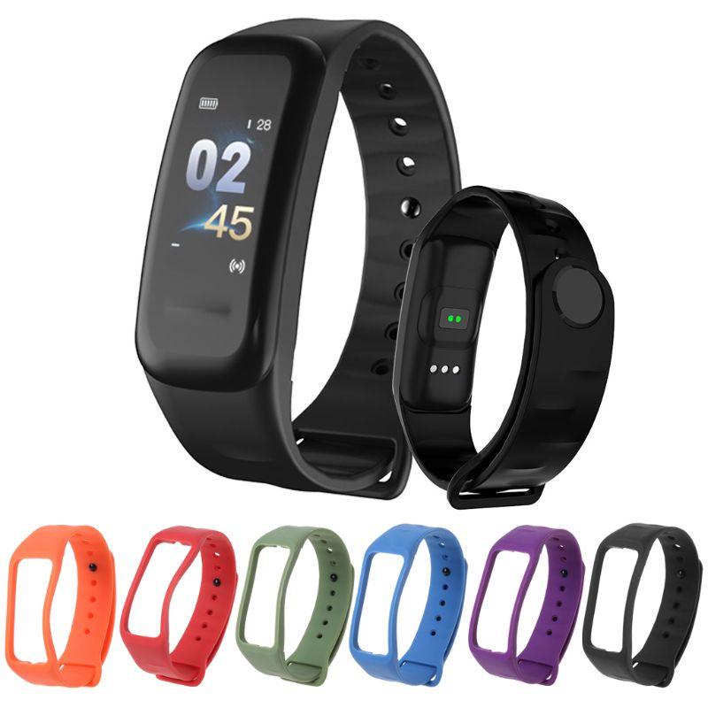 Wrist Strap Bracelet Wristband TPU Smart Watchband Replacement Waterproof For C1 C1S Plus