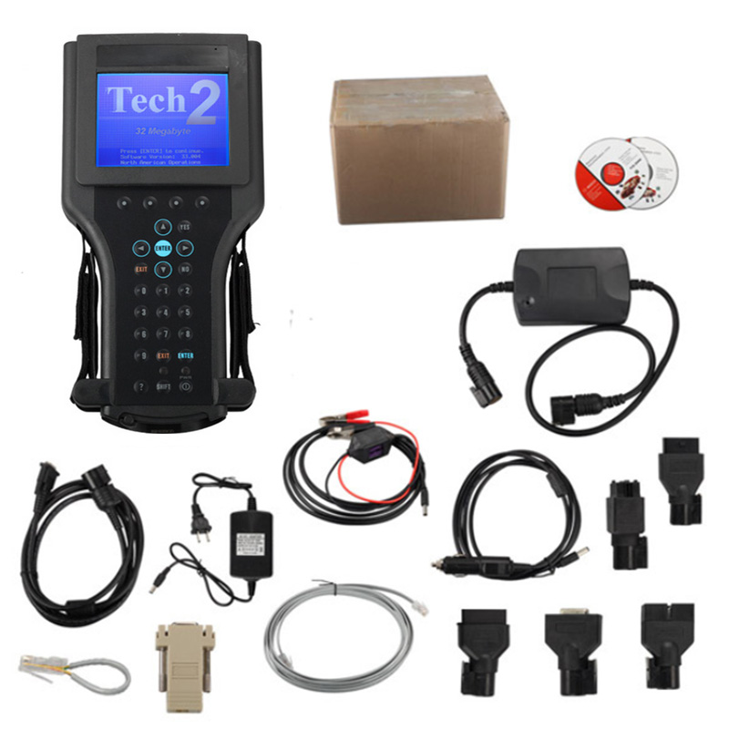 Tech2 Diagnostic Scanner For GM/SAAB/OPEL/SUZUKI/ISUZU/Holden with TIS2000 Software Full Package in Carton Box tech 2 scanner for sale