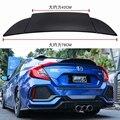 Для Honda Civic спойлер высокого качества ABS Материал заднее крыло автомобиля праймер цвет задний спойлер для Honda Civic спойлер 2016-2018