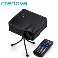Crenova neue projektor 640×480 pixel 800 lumen voller hd projektor heimkino 1080 p projektion mini led video proyector