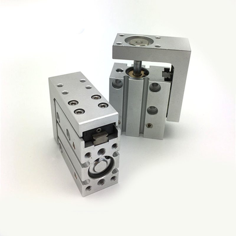 New 1PC SMC Type MXH6 60 Compact Pneumatic Slide Cylinder Bore Size 6mm Stroke 60mm