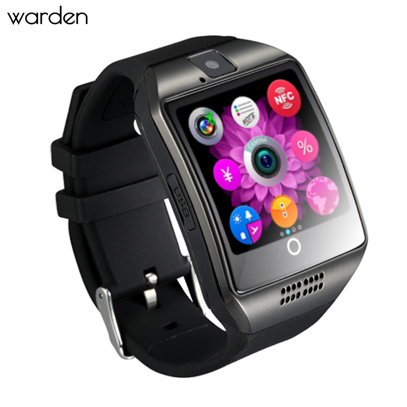 Bluetooth OLED Smart Watch Health Facebook Twitter Smartwatch Sport Smart Electronics Sim Card Wristwatch For IOS