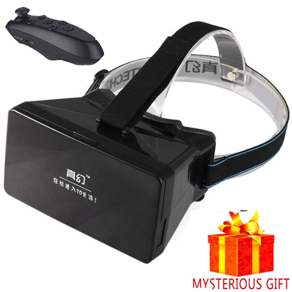 casque vr box headset video 3 d 3d virtual reality glasses. Black Bedroom Furniture Sets. Home Design Ideas