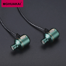 The personality crooked mouth heavy bass metal earphone, the MP3 phone PC universal earplugs