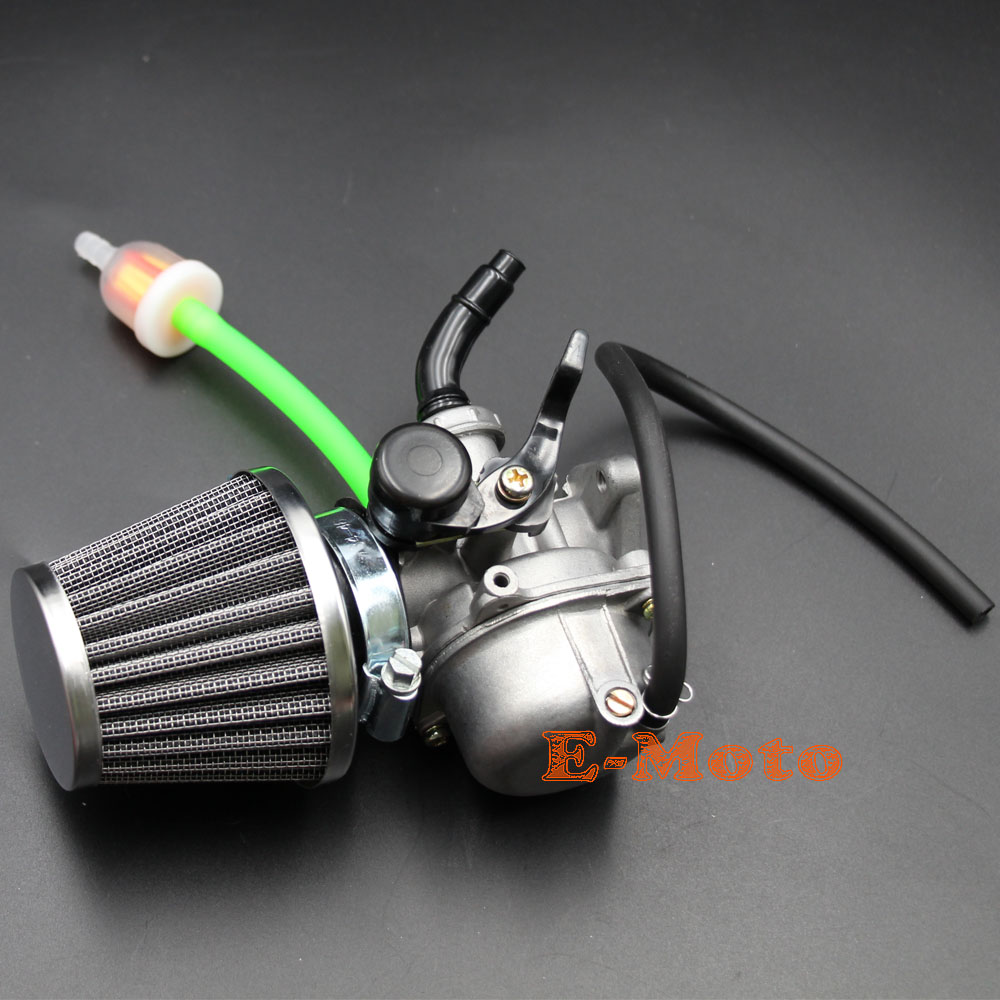 hight resolution of sunl roketa chinese 50cc 90cc 110cc atv dirt bike carburetor w air filter fuel filter carb new e moto in carburetor from automobiles motorcycles on