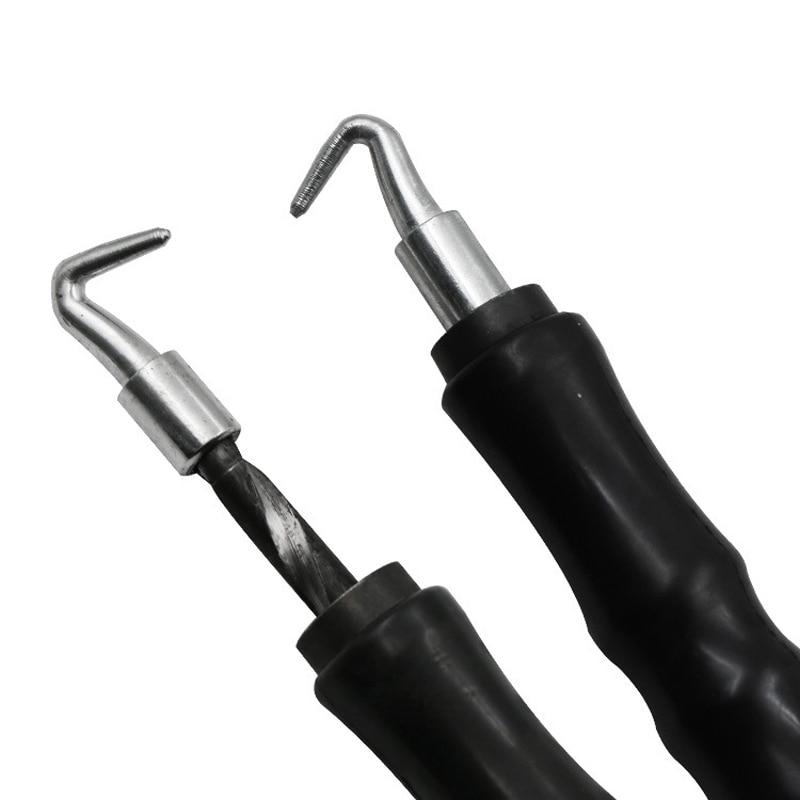 Mayitr 1pc Semi-automatic Rebar Tying Hook Construction Winding Tools Wire Knotting Twister 306mm