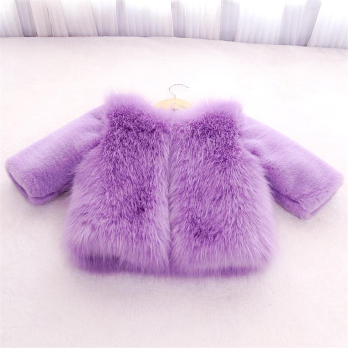 ФОТО new 2015 autumn winter coats fashion girls faux fur jackets Thicken warm baby girls jacket suit 2~7 age children outerwear coat