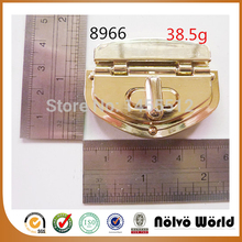 55*40mm zinc alloy metal gold turn lock fashion hardware handmade bag accessory trendy low price locks