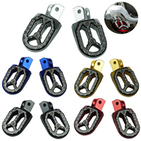CNC Motorcycle Foot Pegs Footrests Footpegs Foot Rests For KTM Husqvarna 85cc 530cc Motocross Foot Pedals Accessories