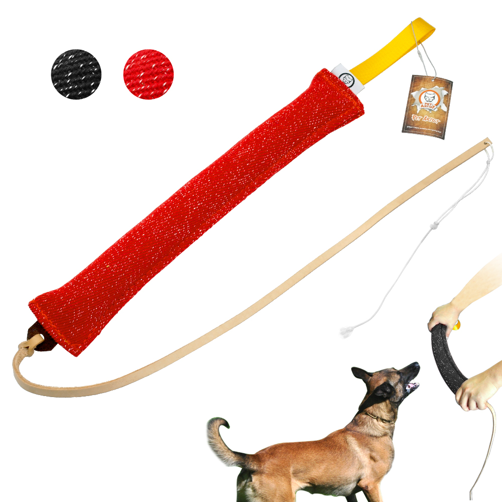 Dog Training Tug Toys: Dog Bite Tug Linen Pet Dog Training Product Accessories