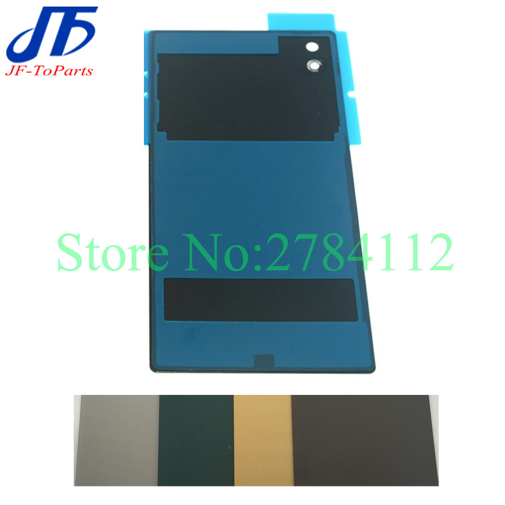 10Pcs Battery Glass Cover Housing replacement For Sony Xperia Z5 E6603 E6653 E6633 E6683 Back Cover Door Case
