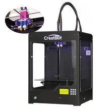 Upgrade DX02 300*250*300mm Dual Extruder Creatbot 3d printer 3D Printer Machine with SD card/Memory card Free