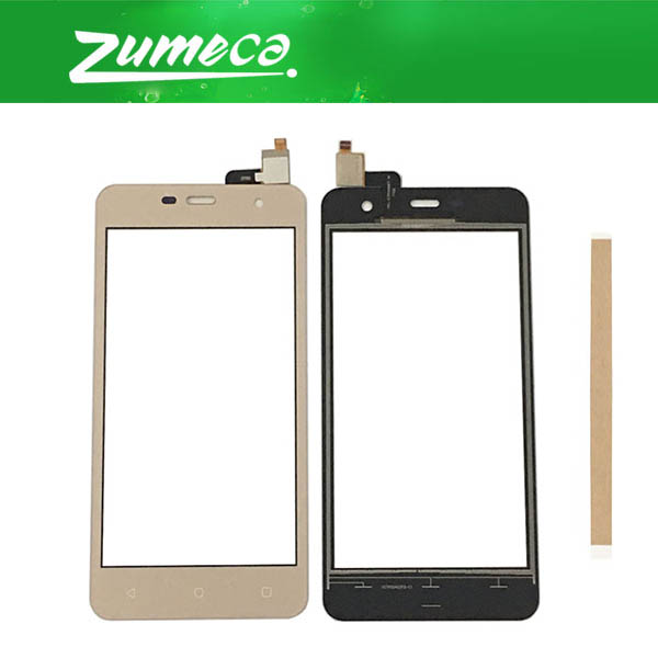 High Quality For <font><b>Prestigio</b></font> Muze G3 Lte <font><b>PSP3511</b></font> Duo Touch Screen Digitizer Touch Panel Lens Glass Black Gold Color With Tape image