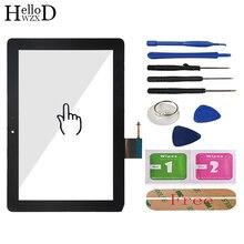 חיישן מגע זכוכית מסך זכוכית Digitizer לוח קדמי זכוכית עדשה עבור Huawei MediaPad 10 קישור S10 201 S10 201U S10 201WA דבק