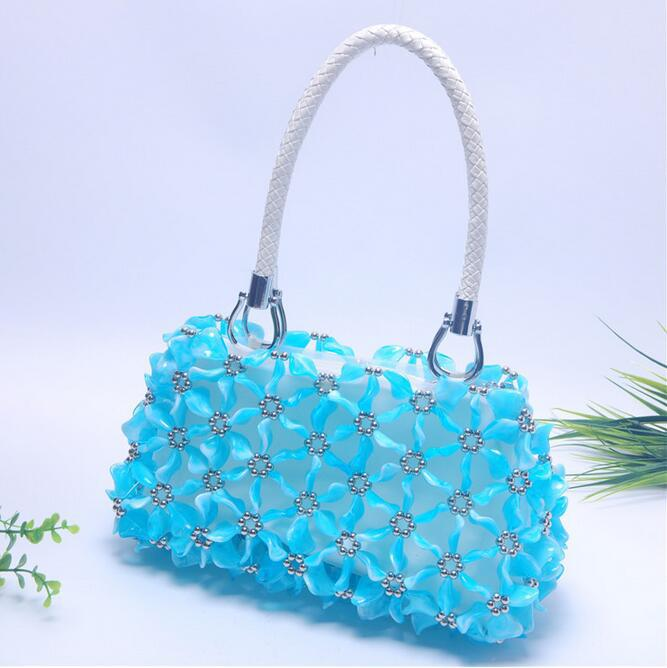 women pearl hand bags, Handmade beaded bag,ladies handbag , shoulder bags,  Hand made women's handbag,Beaded women's bag-in Shoulder Bags from Luggage  & Bags ...